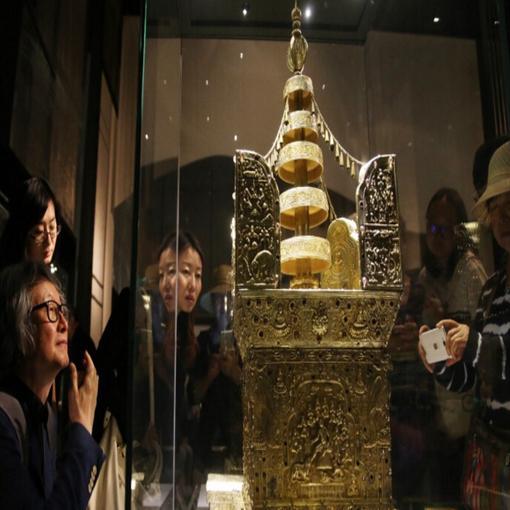 """""""美·好·中华——近二十年考古成果展""""在首都博物馆举办"""