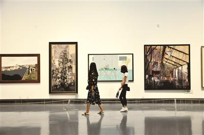 苏州美术馆展出 194幅油画精品