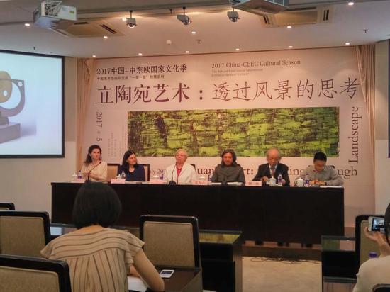 中国美术馆推出立陶宛艺术展