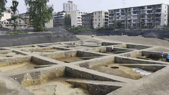 成都考古所发现千年福感寺遗址 大量文物伴随出土