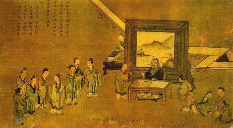 孔门分流与早期儒学传播