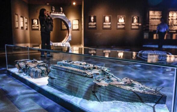 """""""泰坦尼克文物展""""重现传奇邮轮故事"""