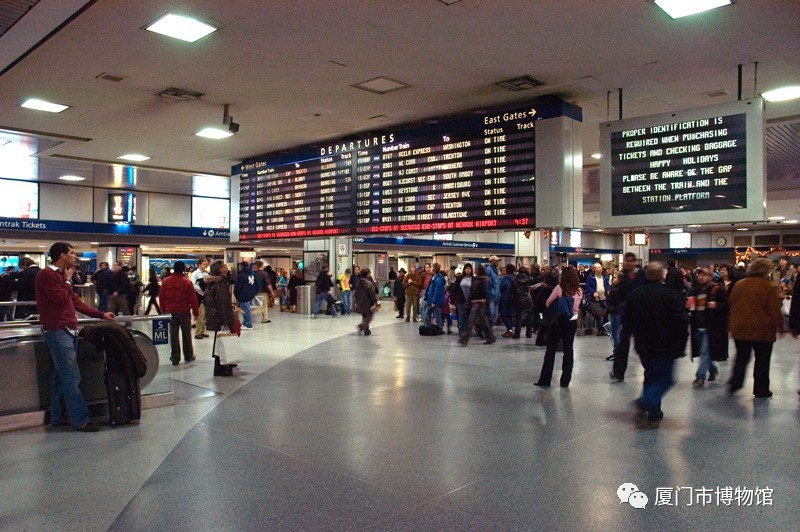纽约宾夕法尼亚车站现状-图片版权归原作者所有