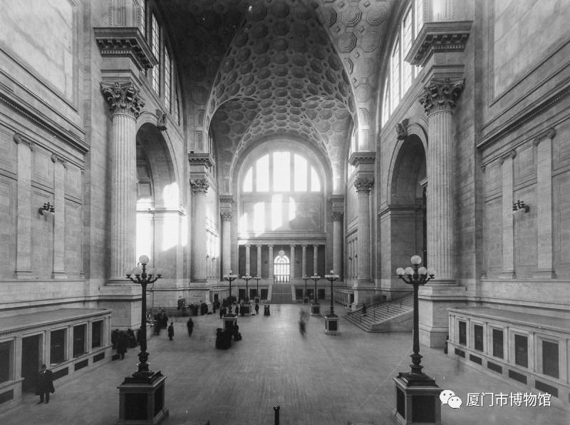 纽约宾夕法尼亚车站原建筑-图片版权归原作者所有