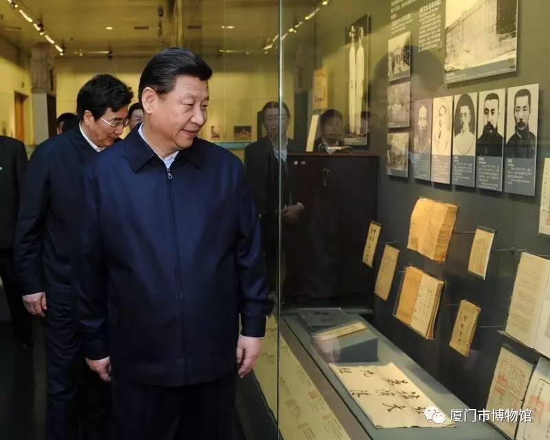 习近平总书记在首都博物馆参观北京历史文化展览-图片版权归原作者所有