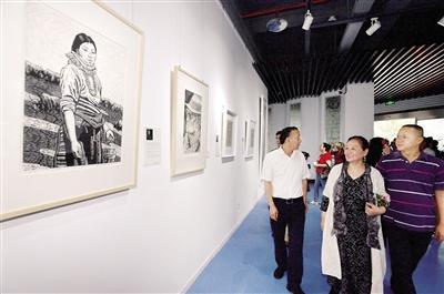 艺术重庆美术馆 重庆当代知名画家名作亮相