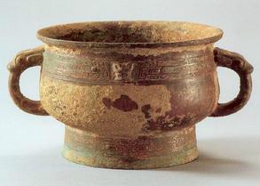 商代晚期青铜簋