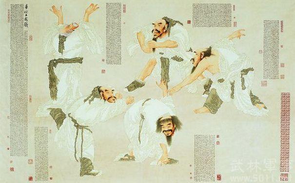 华佗五禽戏是以模仿动物动作和神态为主要内容的组合动功.