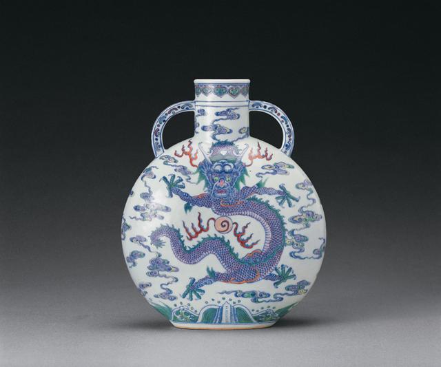 清雍正时期斗彩瓷欣赏
