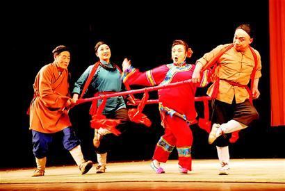 祁太秧歌(太谷秧歌,晋中秧歌)_非物质文化遗产_传统戏剧图片