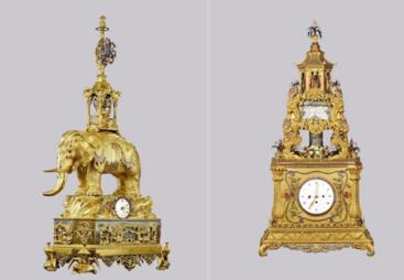 古董钟注入时尚元素