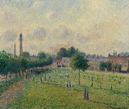 印象派们在伦敦流亡中的法国艺术家