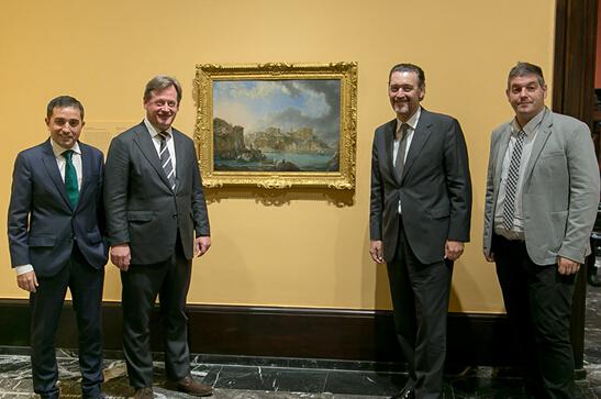 毕尔包美术馆收购阿尔卡萨精美风景画