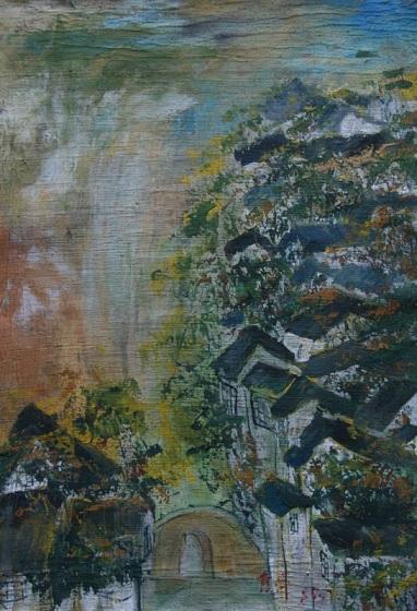 绽放生命:李青萍油画展在北京举行
