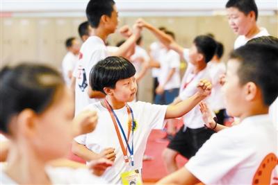 京津冀武术体验夏令营让孩子们爱上传统文化