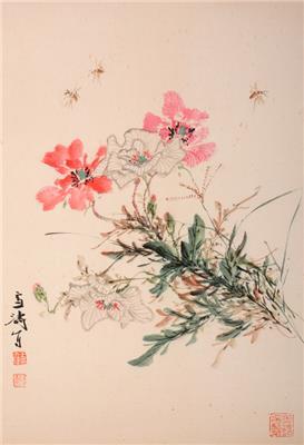 一朵牡丹价值百万 王雪涛花卉作品现身晟永拍卖