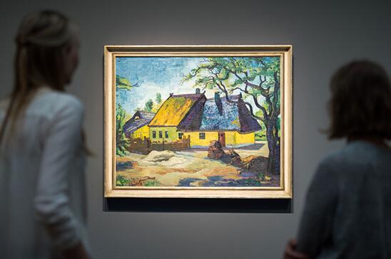 布赛留斯艺术论坛展览Max Pechstein杰作