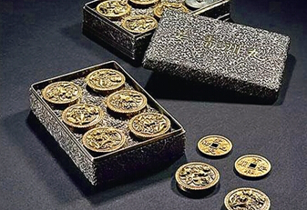 乾隆御制祈福金钱打破古钱币拍卖纪录