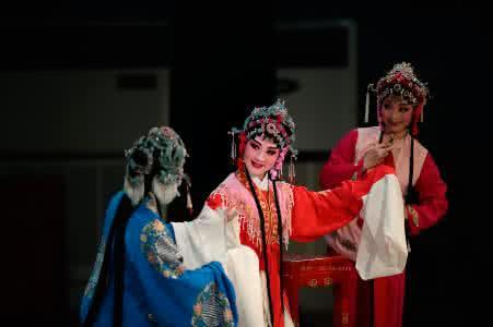越劇_非物質文化遺產_傳統戲劇