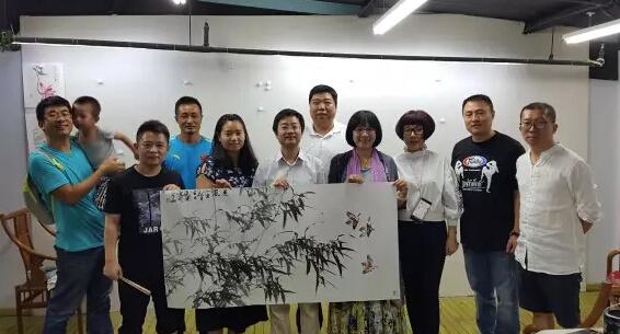 丰台青联荟酉社举办首期国画讲座 网络直播引关注