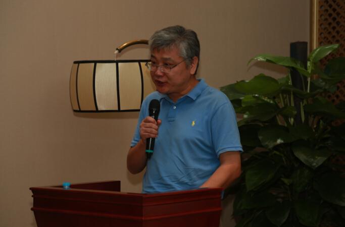 北京中国书画收藏家协会副会长蔺辉先生致辞-图片版权归原作者所有图片