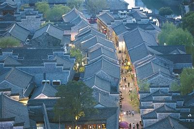 [宁波]南塘老街 历史街区蝶变休闲新地标