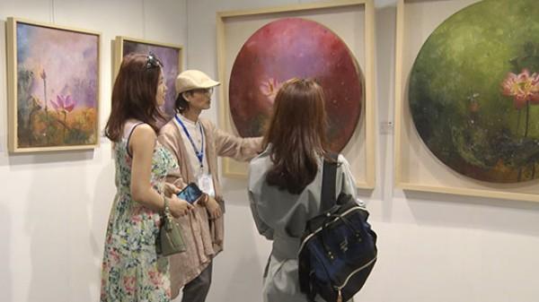 卢鹏油画作品惊艳亮相2017北京艺博会