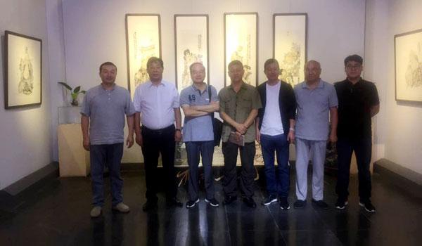 野逸·心象——张立奎试验水墨小品展在徐州雁南艺术会馆举办