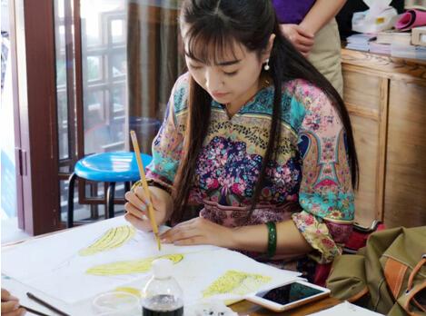沙燕绘画:澜创园社保所 风筝制作技能培训
