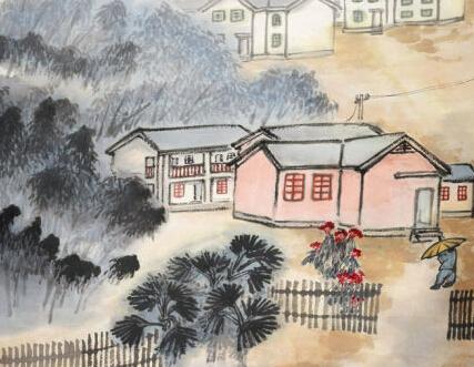 记朱屺瞻之艺术:丹青华彩融中西