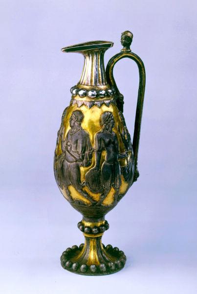 鎏金银瓶:丝路瑰宝 精美绝伦
