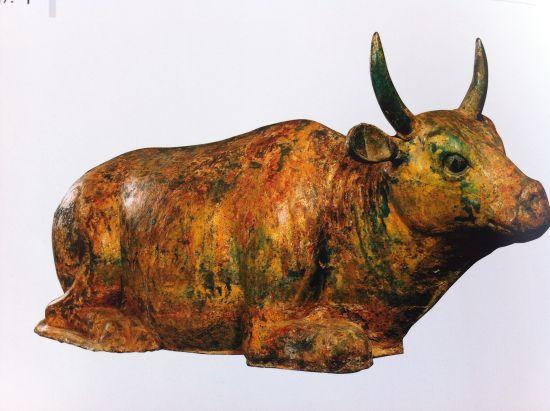 西夏第一牛——鎏金铜牛
