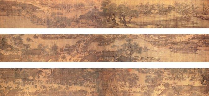 《清明上河图》PK《千里江山图》,究竟谁才是全景画卷NO.1?