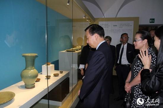 """""""东西汇流——13至17世纪的海上丝绸之路""""文物展在罗马揭幕"""
