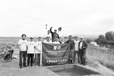 重庆考古专家发现俄罗斯哈卡斯首个旧石器时代遗址