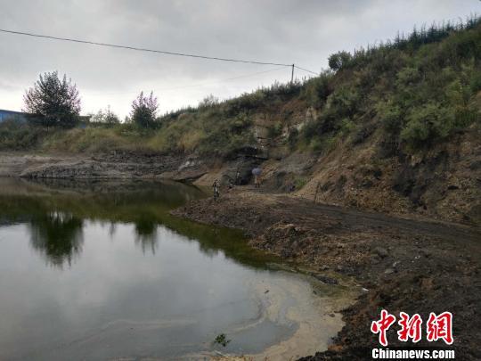 图为水塘坝化石地现场。 胡远航 摄-图片版权归原作者所有