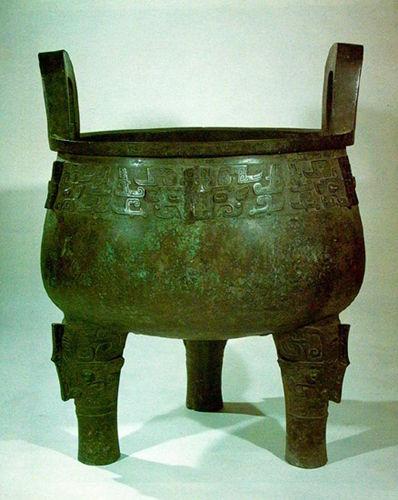 海内青铜器三宝之大盂鼎鉴藏