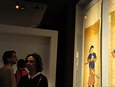 欧洲首个大型中国肖像画展在柏林开幕