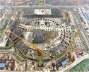郑州博物馆新馆主楼开始主体施工