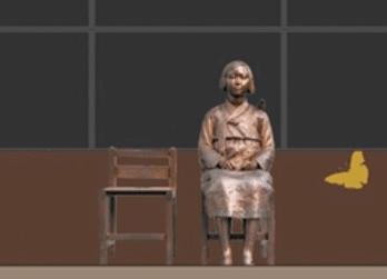 纽约一博物馆办慰安妇像揭幕式