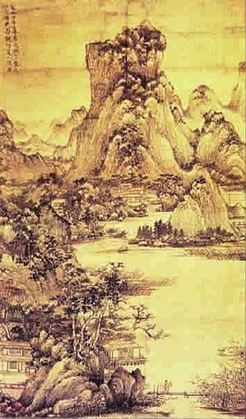 鉴赏:元代王蒙《夏山隐居图》