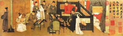 寓意深刻的千年名画:《韩熙载夜宴图》