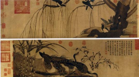 《柳鸦芦雁图》:宋徽宗的另类作品