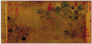 隋代展子虔《游春图》标志山水画逐渐成熟