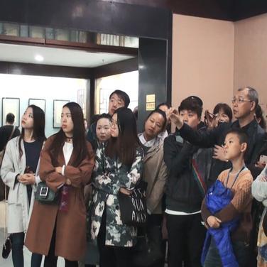 张大千书画精品展在安阳博物馆开展