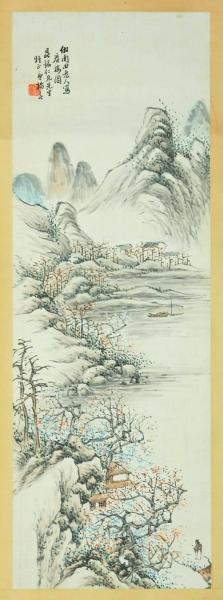 清代诸生杨春的《探梅图》