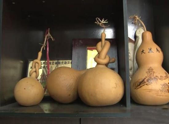 中国葫芦第一村:村民靠葫芦致富 1个能卖上千元