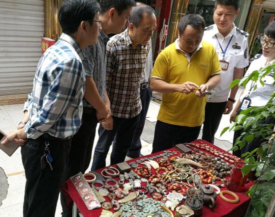 [温州]市文物流通市场专项整顿行动举行