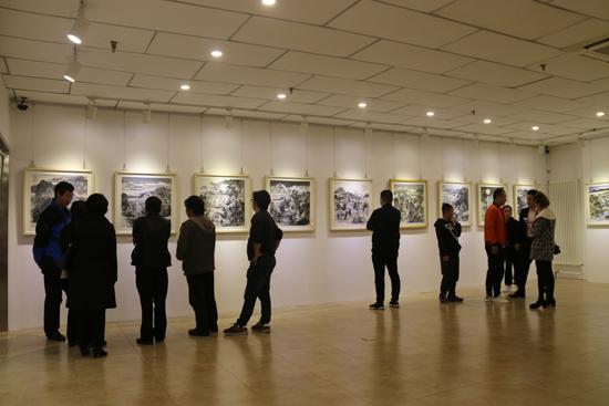 河洛墨韵——曾国荣山水画展在北京开幕