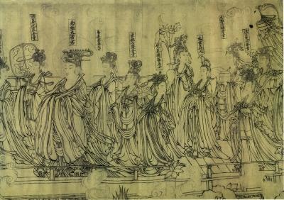国宝《朝元仙仗图》的递藏